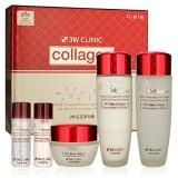 Набор восстанавливающих средств для лица с коллагеном 3W Clinic Collagen Skin Care 3 Items Set