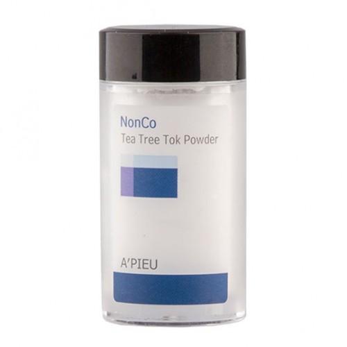 Прозрачная пудра с маслом чайного дерева для проблемной кожи A'PIEU NonCo Tea Tree Tok Powder в Иркутске