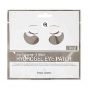 Гидрогелевые патчи для глаз с экстрактом морского огурца BeauuGreen Hydrogel Sea Cucumber and Black Eye Patch - на 1 применение