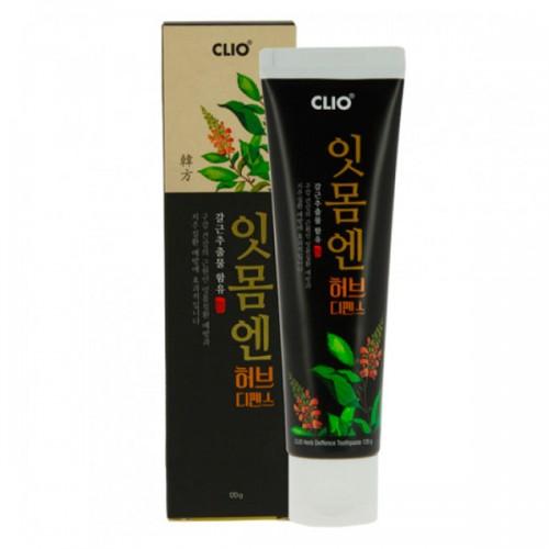 Зубная паста для ухода за деснами с вытяжкой из корня пуэрарии CLIO Herb Deffence Gum Toothpaste