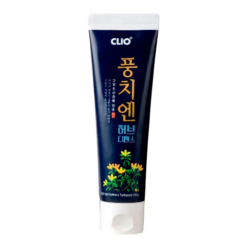 Зубная паста с вытяжкой из хризантемы сибирской CLIO Herb Deffence Style Toothpaste
