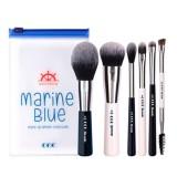 Набор из 6 кистей для макияжа Coringco Marine Blue Make-Up Brush Collecion