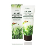 Крем для рук и ног с фильтратом улитки Deoproce Snail Recovery Moisure Hand Foot Cream