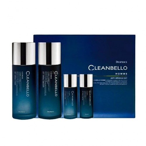 Набор мужской антивозрастной Deoproce Cleanbello Homme Anti-Wrinkle Set