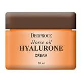 Крем для лица с лошадиным маслом и гиалуроновой кислотой Deoproce Horse Oil Hyalurone Cream