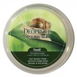 Универсальный крем с муцином улитки Deoproce Natural Skin Snail Nourishing Cream