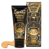 Золотая омолаживающая маска-пленка с пептидами Elizavecca Milky Piggy Hell-Pore Longo Longo Gronique Gold Mask Pack