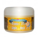 Маска тонизирующая с витамином C для сияния лица Elizavecca Milky Piggy Vitamin C 21% Ample Mask
