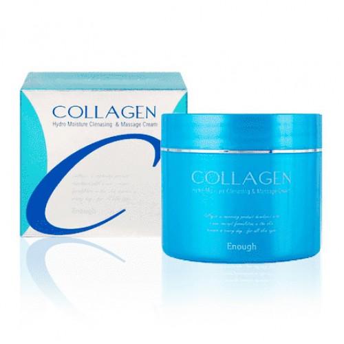 Очищающий массажный крем для лица с коллагеном Enough Collagen Hydro Moisture Cleansing & Massage Cream