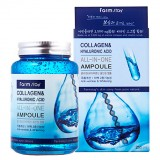 Сыворотка с коллагеном и гиалуроновой кислотой FarmStay All-In-One Collagen & Hyaluronic Acid Ampoule