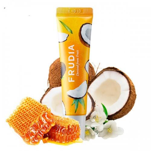 Крем для губ с кокосом и медом Frudia Coconut Honey Salve Lip Cream