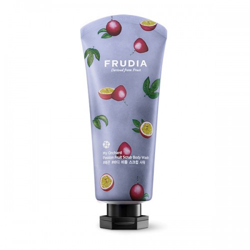 Гель-скраб для душа с маракуйей Frudia My Orchard Passion Fruit Scrub Body Wash