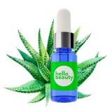 Заживляющая и увлажняющая сыворотка для лица с алоэ вера Hello Beauty Aloe Serum