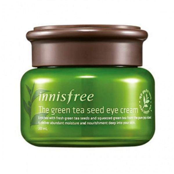 Крем для кожи вокруг глаз с семенами зеленого чая Innisfree Green Tea Seed Eye Cream
