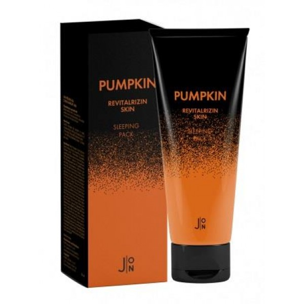Ночная маска с тыквой J:ON Pumpkin Revitalizing Skin Sleeping Pack - тюбик 50 г