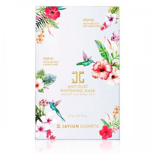 Трехэтапный осветляющий детокс-комплекс для сияния кожи JayJun Anti-Dust Whitening Mask