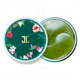 Гидрогелевые патчи для глаз с лепестками зелёного чая JayJun Green Tea Eye Gel Patch