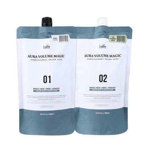 Комплекс средств для объема и выпрямления волос в домашних условиях Lador Aura Volume Magic в Иркутске