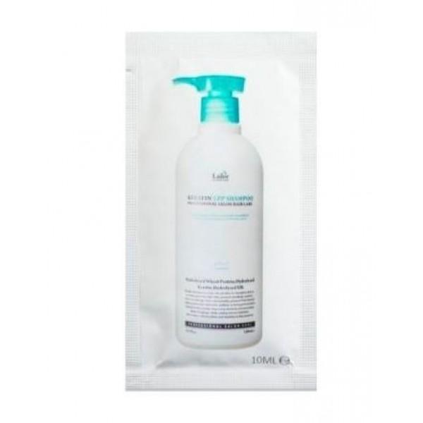 ПРОБНИК Профессиональный безсульфатный шампунь с кератином Lador Keratin LPP Shampoo