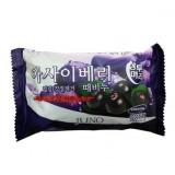 Косметическое пилинг-мыло c ягодами асаи Juno Acai Berry Peeling Soap