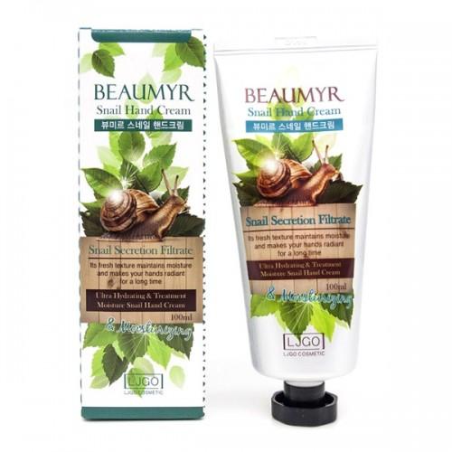 Крем для рук с улиткой Juno Beaumyr Snail Hand Cream