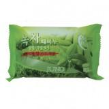 Косметическое пилинг-мыло c зеленым чаем Juno Green Tea Peeling Soap