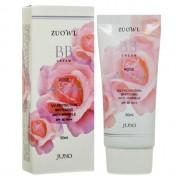 Антивозрастной BB крем с экстрактом розы Juno Zuowl Whitheing Anti-Wrinkle Rose BB Cream