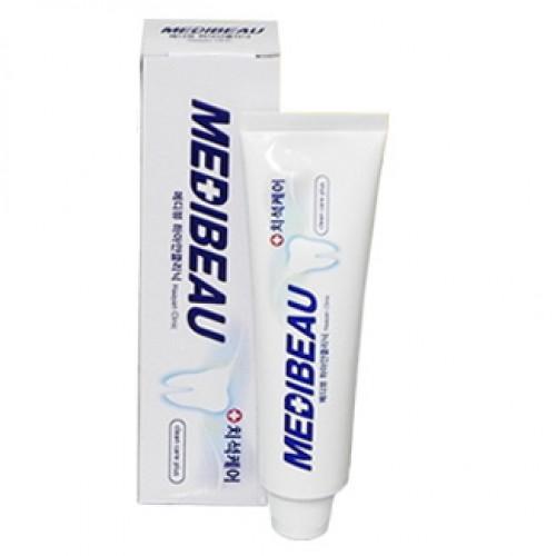 Зубная паста отбеливающая Juno Medibeau White Clinic Toothpaste в Иркутске