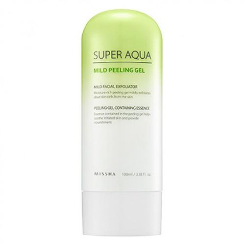Увлажняющий пилинг-гель для чувствительной кожи Missha Super Aqua Mild Peeling Gel в Иркутске