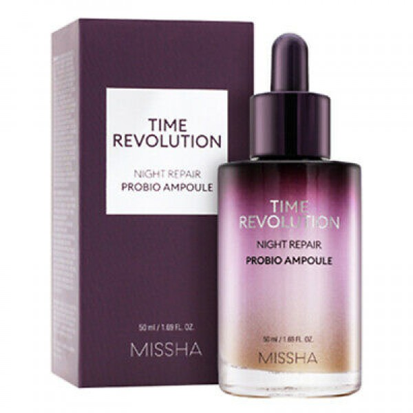Восстанавливающая ночная ампула Missha Time Revolution Night Repair Probio Ampoule