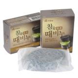 Косметическое мыло-скраб с древесным углем Mukunghwa Charcoal Body Soap