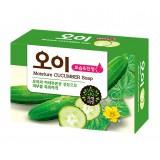 Косметическое мыло увлажняющее с огурцом Mukunghwa Moisture Cucumber Soap