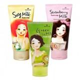 Молочная пенка для умывания Mukunghwa Rossom Milk Foam Soap