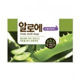 Косметическое мыло освежающее с алоэ Mukunghwa Fresh Aloe Soap