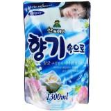 """Кондиционер для белья """"свежесть океана"""" мягкая упаковка Sandokkaebi Soft Aroma Ocean - 1300 мл"""