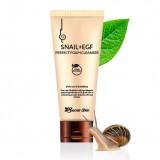 Пенка для умывания с муцином улитки и EGF Secret Skin Snail+EGF Perfect Foam Cleanser