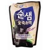 Средство для мытья посуды, фруктов и овощей с бамбуковым углем запасной блок Soonsaem Bamboo Charcoal Refill Pack - 1.2 кг