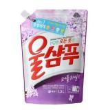 Жидкое средство для стирки запасной блок Wool Shampoo Fresh свежесть - 1300 мл