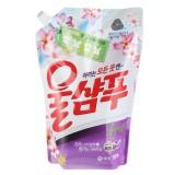 Жидкое средство для стирки запасной блок Wool Shampoo Fresh цветочный - 1300 мл