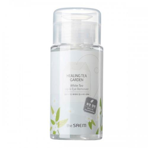 Средство для снятия макияжа для глаз и губ с белым чаем The Saem Healing Tea Garden White Tea Lip & Eyes Remover
