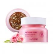 Увлажняющая маска с лепестками роз The Saem Natural Daily Original Rose Mask