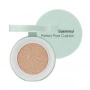 Тональный крем-кушон для маскировки пор The Saem Saemmul Perfect Pore Cushion SPF50+ PA+++