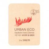 ПРОБНИК Увлажняющая пенка с экстрактом новозеландского льна The Saem Urban Eco Harakeke Foam Cleanser