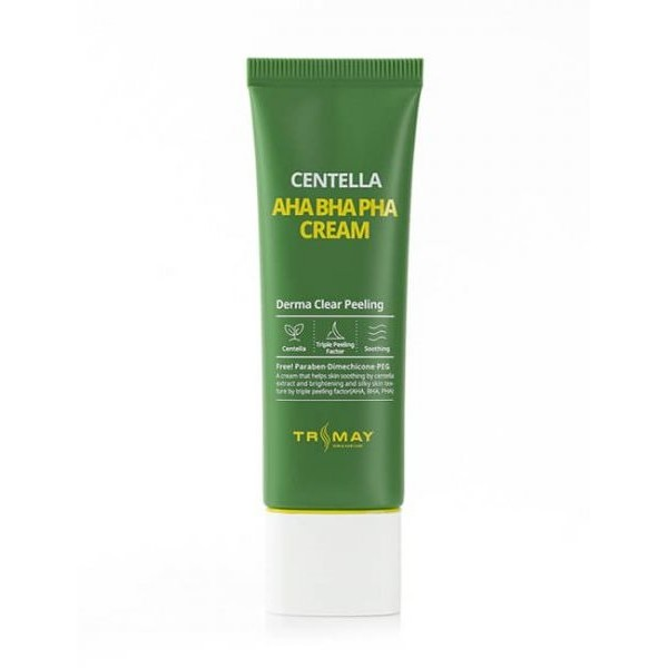 Обновляющий крем с кислотами и центеллой азиатской Trimay AHA-BHA-PHA Centella Cream