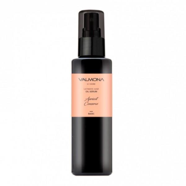 Сыворотка для волос с натуральными маслами и ароматом абрикоса Valmona Ultimate Hair Oil Serum Apricot Conserve