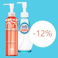 С 21 по 25 мая - скидка 12% на все гидрофильные масла!