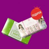При покупке тоника - косметические спонжи Secret Key 100% Cotton Puff в подарок!