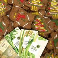 С наступающим Новым годом! Имбирное печенье с предсказанием в каждом заказе!