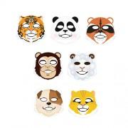 Маска-салфетка в виде животных Berrisom Animal Mask Series