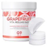 Очищающие пилинг-пэды с экстрактом грейпфрута Berrisom G9 Skin Grapefruit Vita Peeling Pad